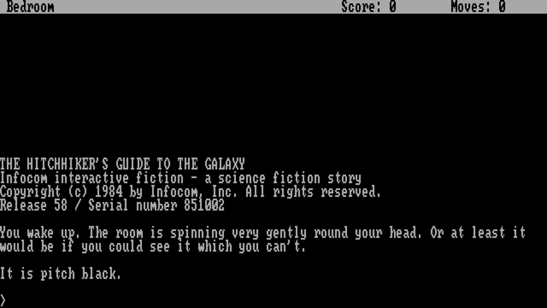 All of Infocom's text adventure source code archived and public