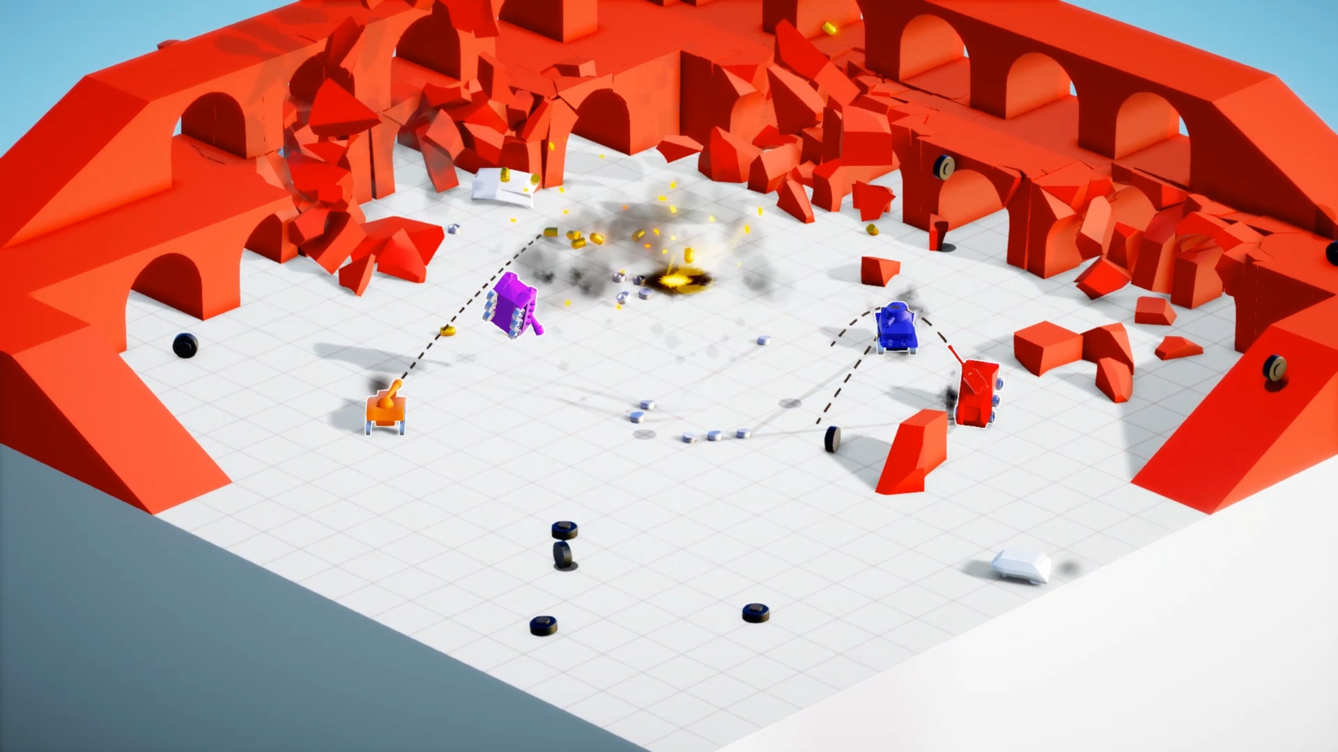 Tiny Tanks looks like big fun, out today