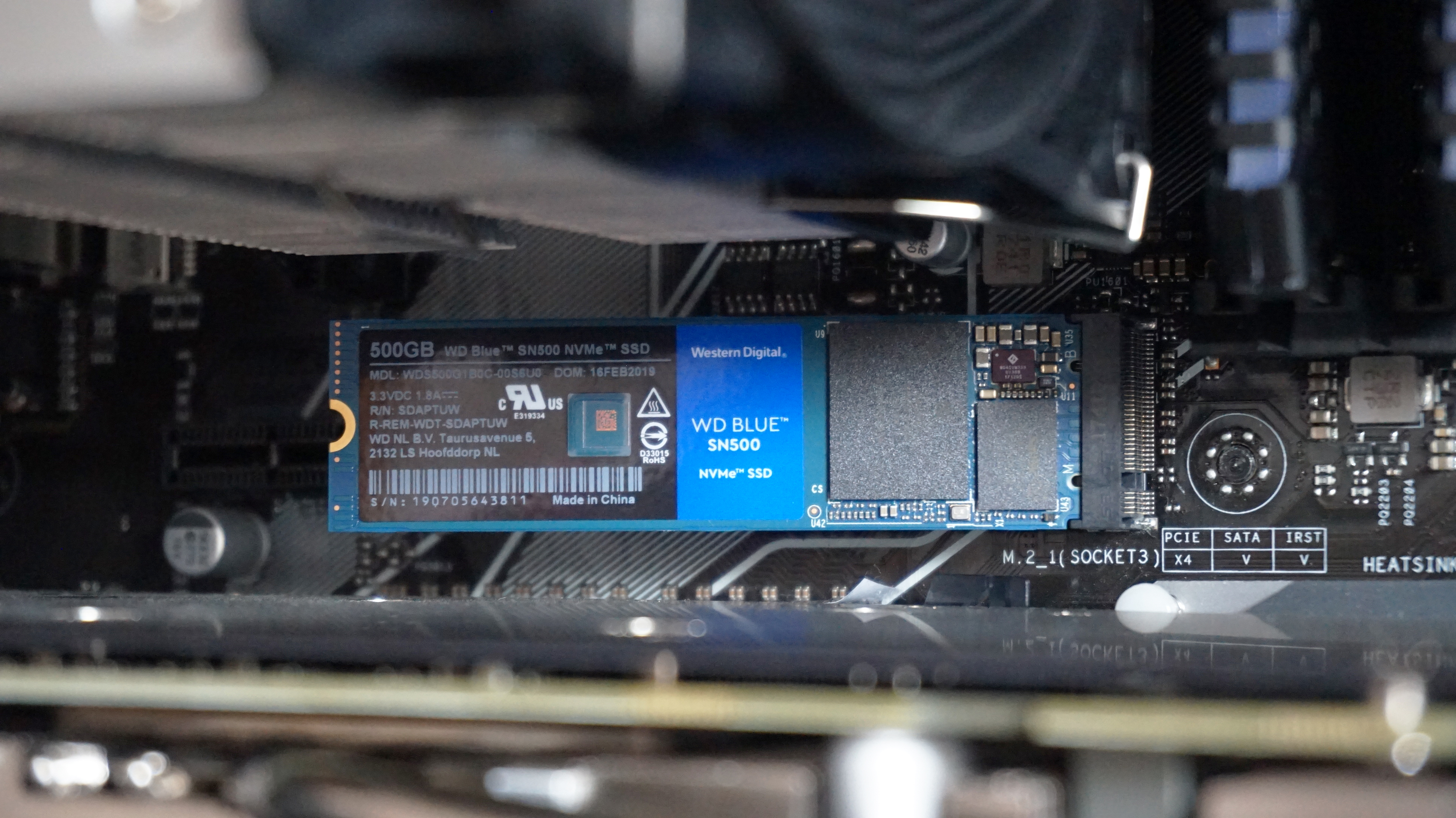 WD Blue SN500 review: The best value NVMe SSD around | Rock