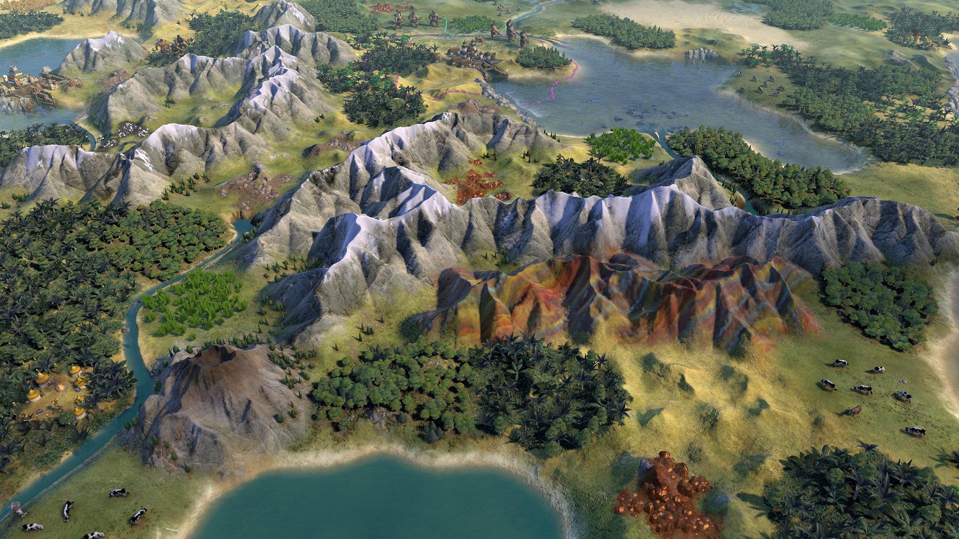 Civilization 6 mod makes it look more like Civ 5 | Rock