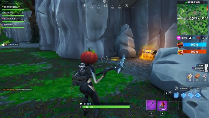 Jigsaw piece in cave close to Lonely Lodge.