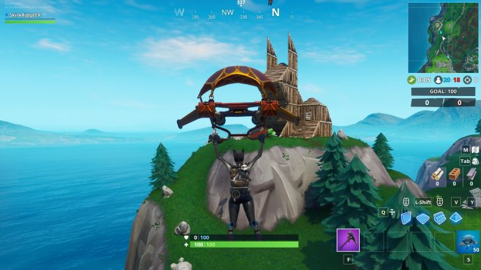 The Wooden Rabbit near snobby shores.