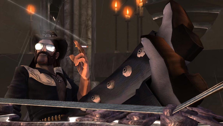 Lemmy Kilmister - as depicted in Brütal Legend.