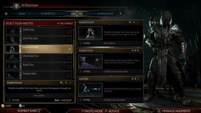 My configuration for AI fighters for Koins/Soul Fragment farming