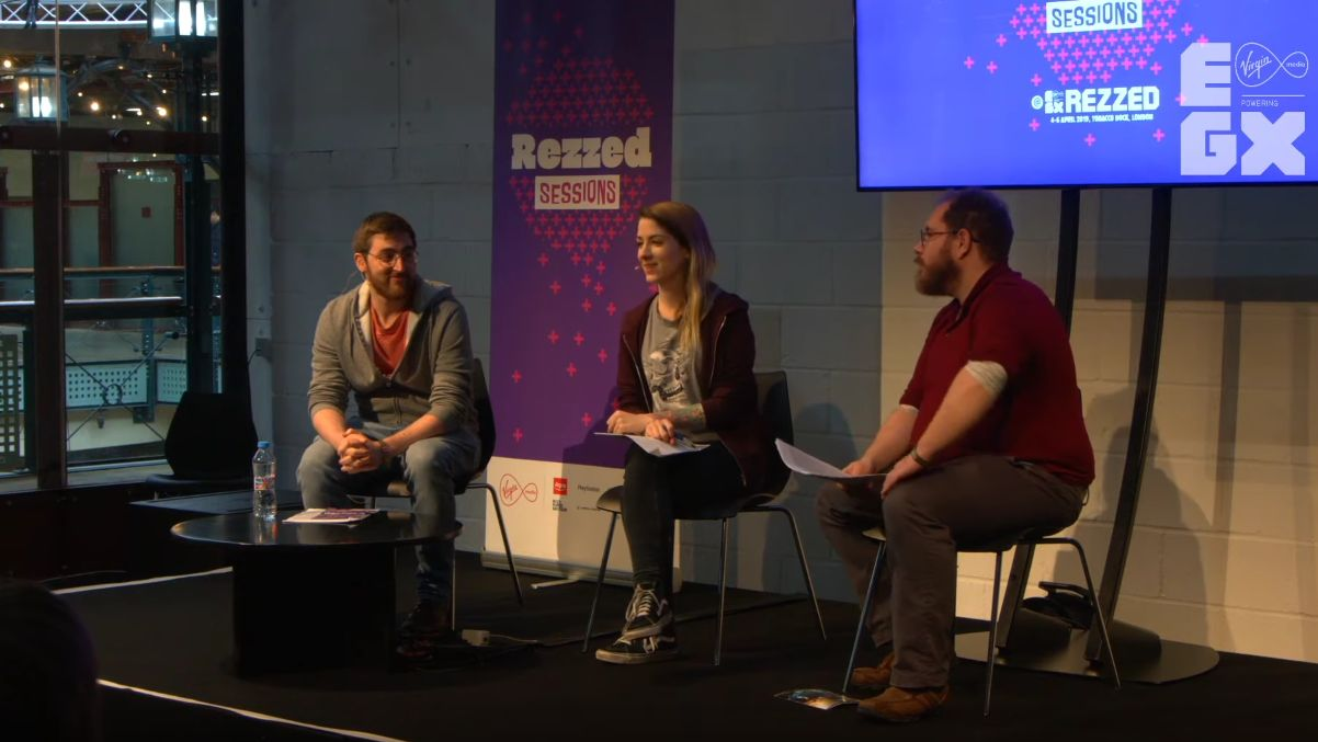 Podcast: Watch us acting silly at EGX Rezzed 2019