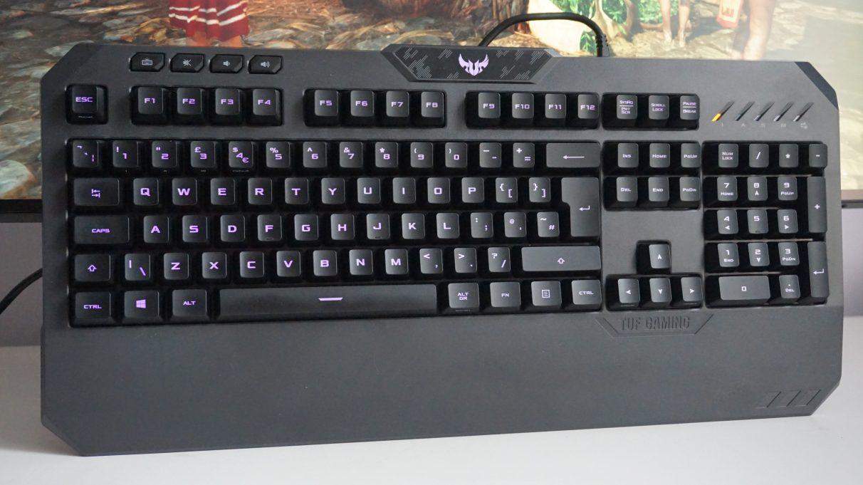 Asus TUF Gaming K5 - Best gaming keyboard 2020