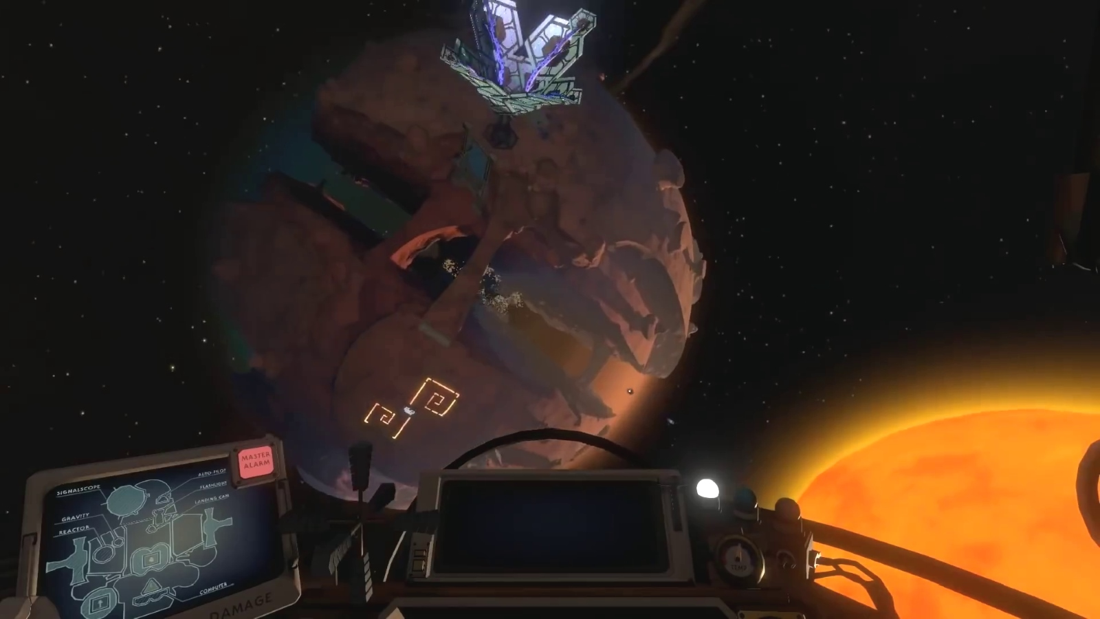 Outer Wilds launches straight into a temporal loop today