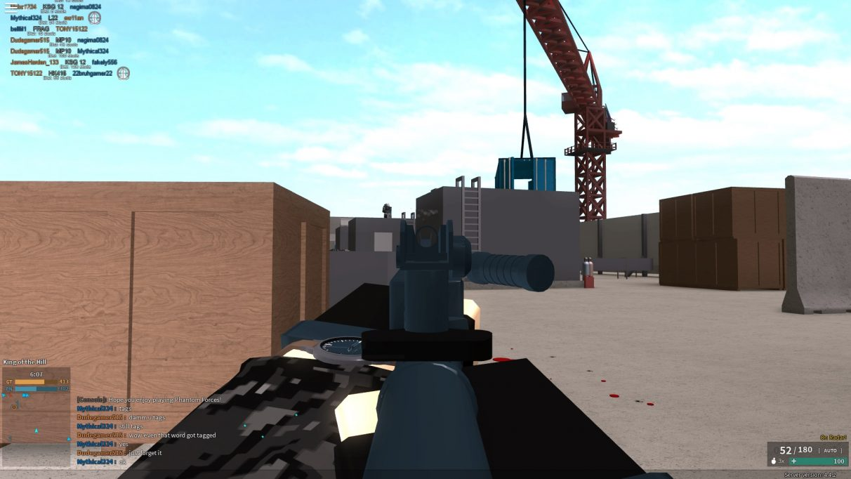 Roblox Special Forces Games