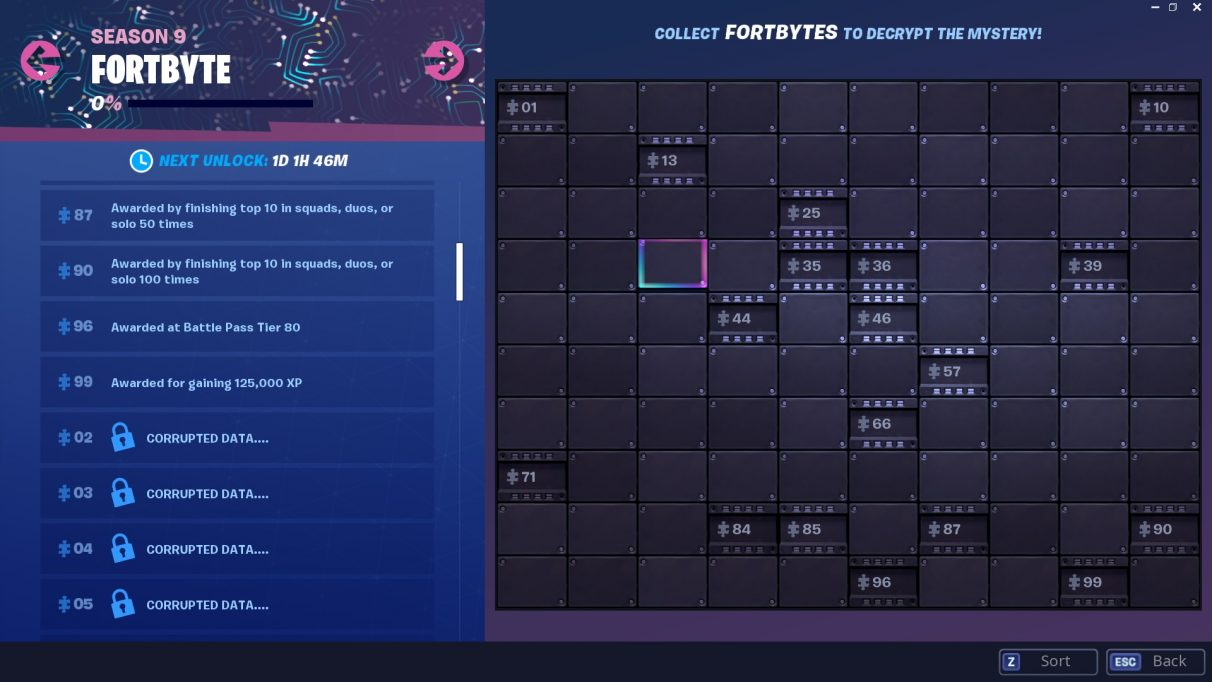 Fortnite Fortbyte locations – Fortbyte 59 Pizza Pit, Fortbyte 58