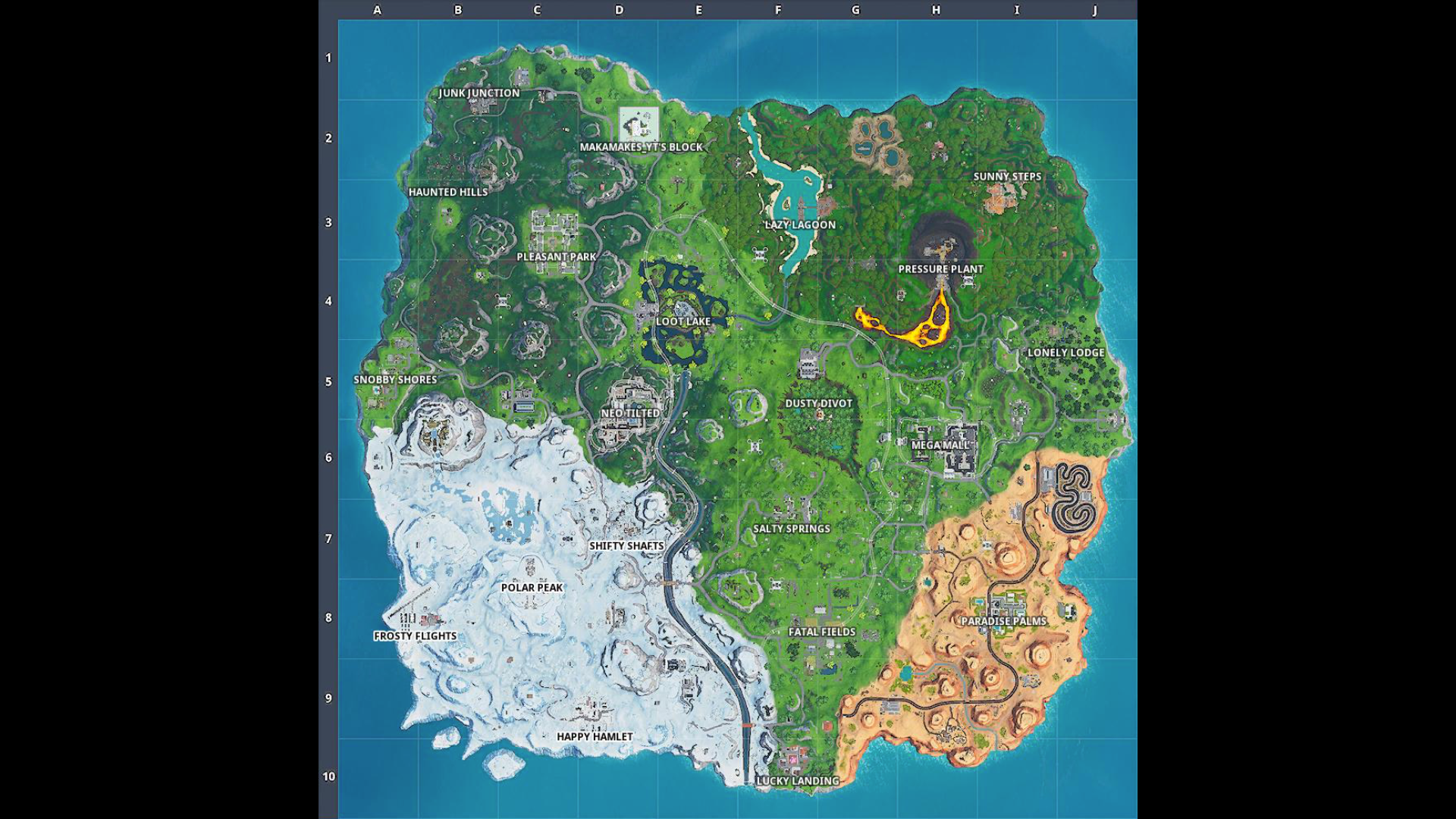 Map Changes Neo Tilted Mega Mall Pressure Plant
