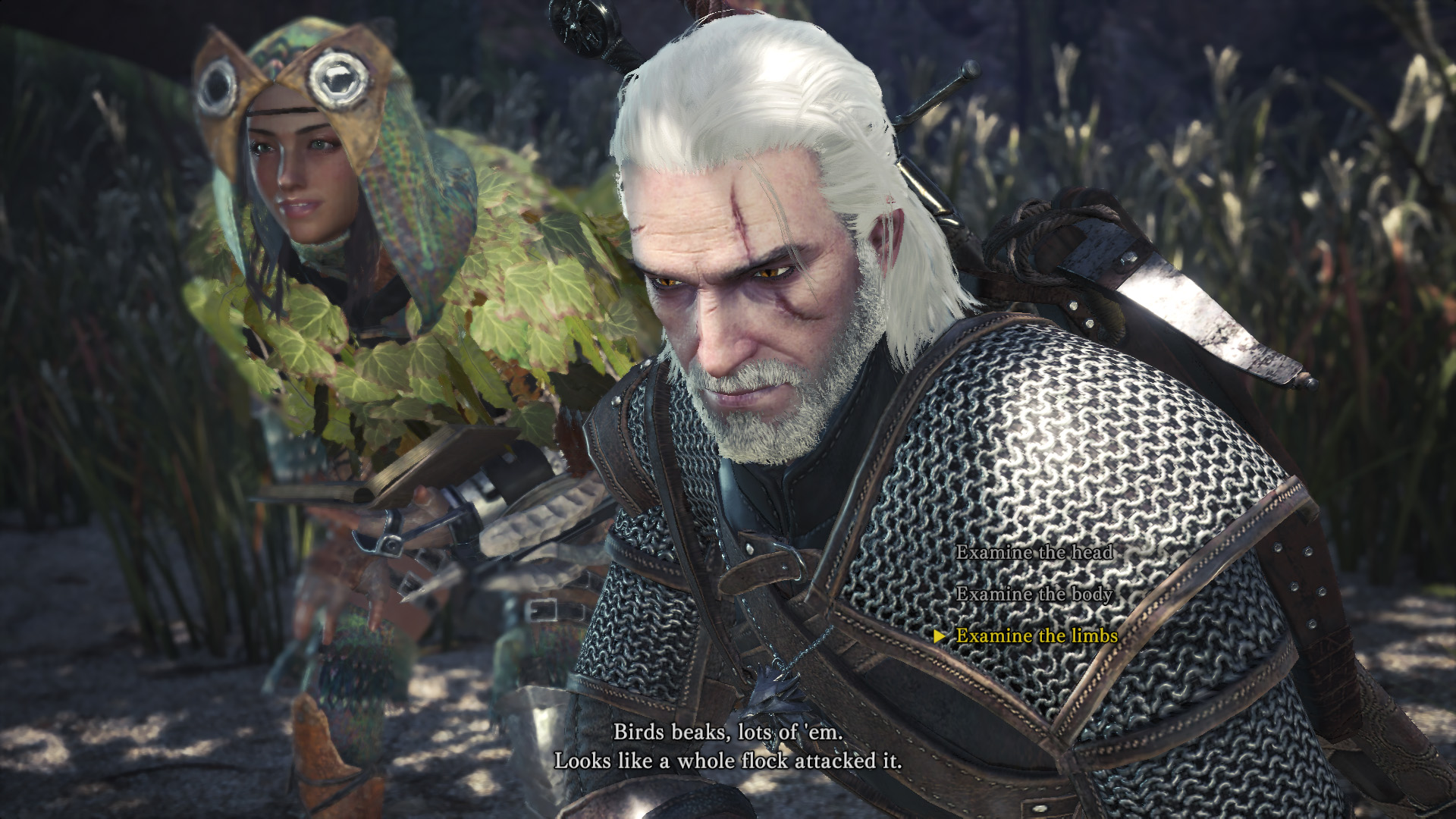 Monster Hunter: World's Witcher crossover is finally on PC