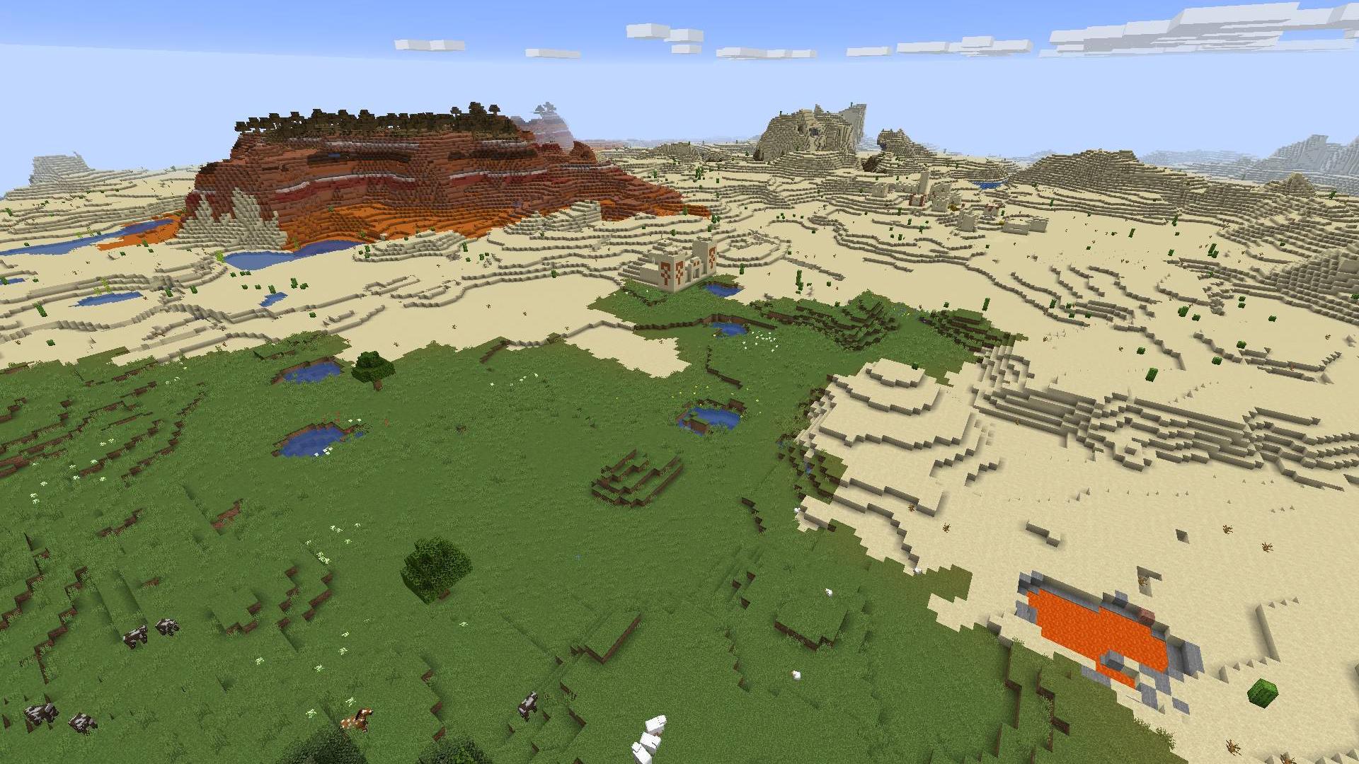 The best Minecraft seeds 1 14 – Minecraft 1 14 seeds list