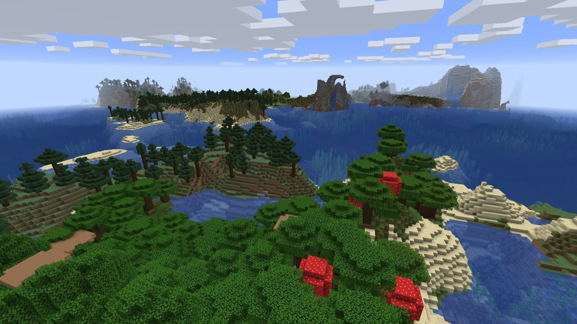 Minecraft Seeds 1 14 One Of The Best Minecraft 1 14