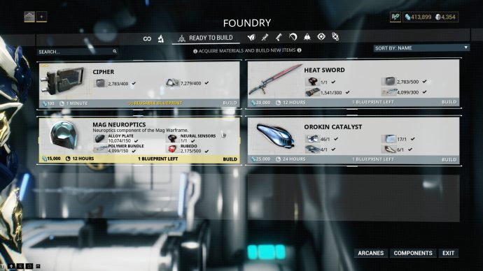 The Foundry with a Mag blueprint.