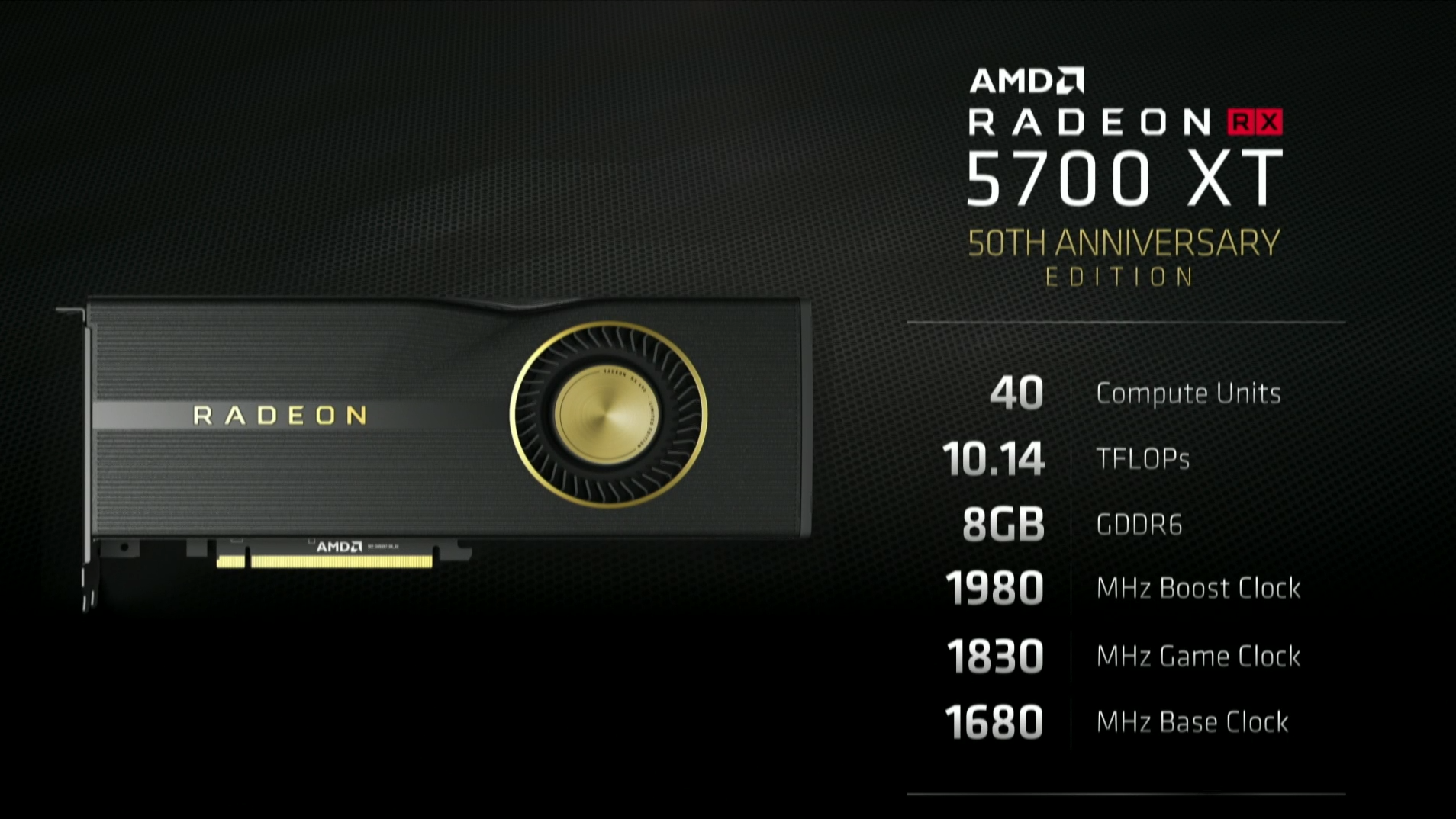 AMD's RX 5700 and RX 5700 XT Navi GPUs bring the fight to Nvidia's
