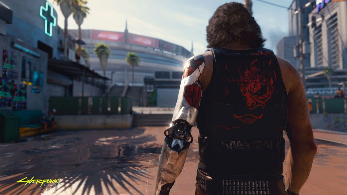 Cyberpunk 2077 E3 screen capture