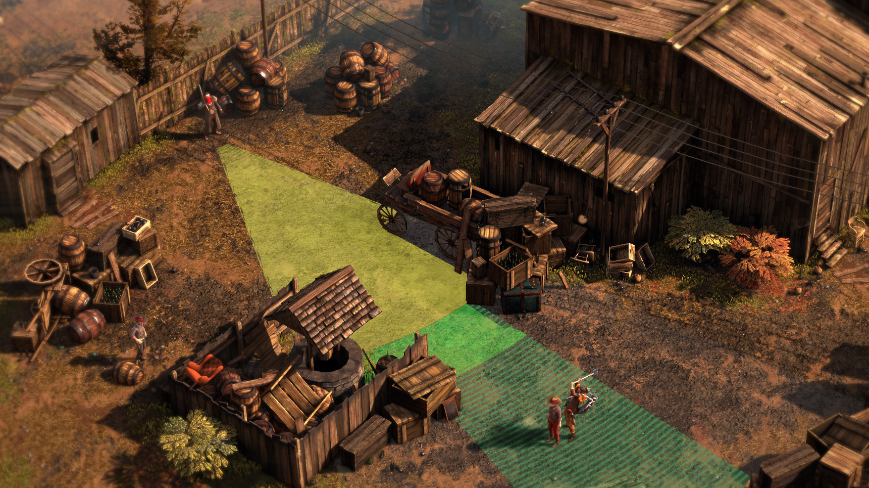 Desperados Iii Is Shadow Tactics Wearing A Lovely Cowboy Coat Rock Paper Shotgun