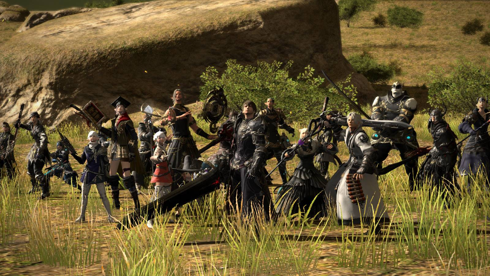 Final Fantasy XIV takes a day off while patch 5 0 deploys | Rock