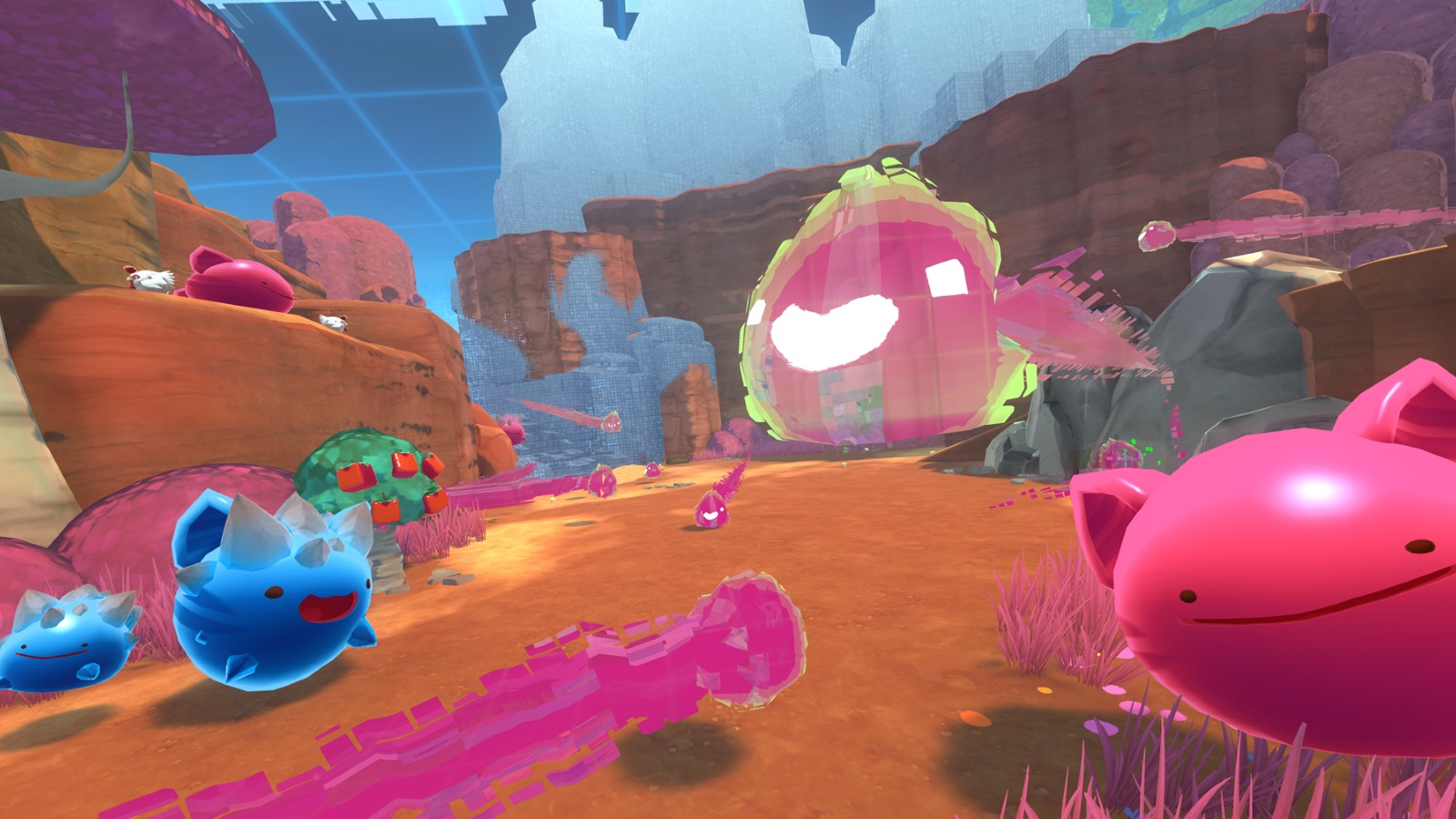 Slime Rancher expands for free into the jiggly glitch dimension