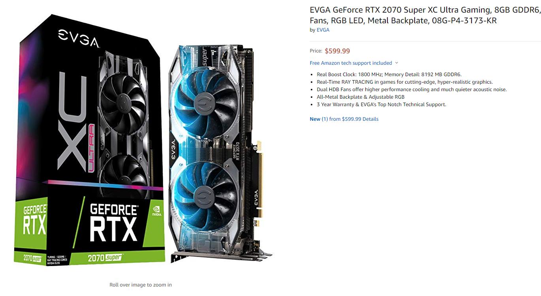 Nvidia RTX Super graphics cards break cover on Amazon