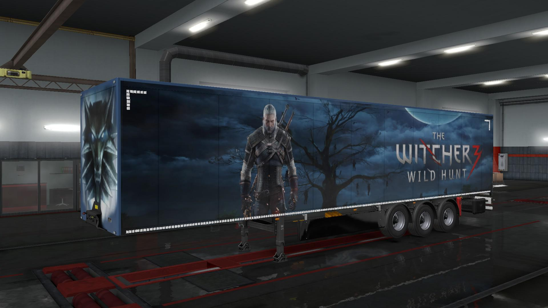 Geralt the Witcher moonlights as Euro Truck Sim 2's new GPS | Rock