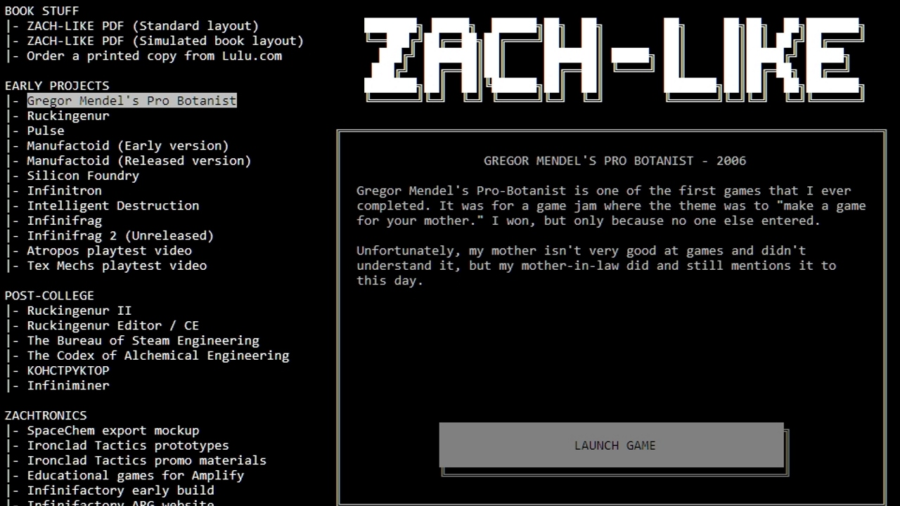 Zach-Like is now free with a bundle of older games | Rock