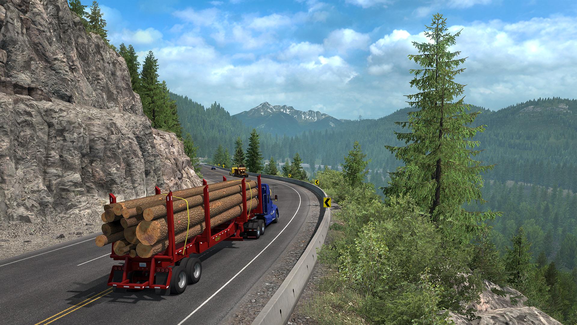 Jun 4 American Truck Simulator: Washington making Twin