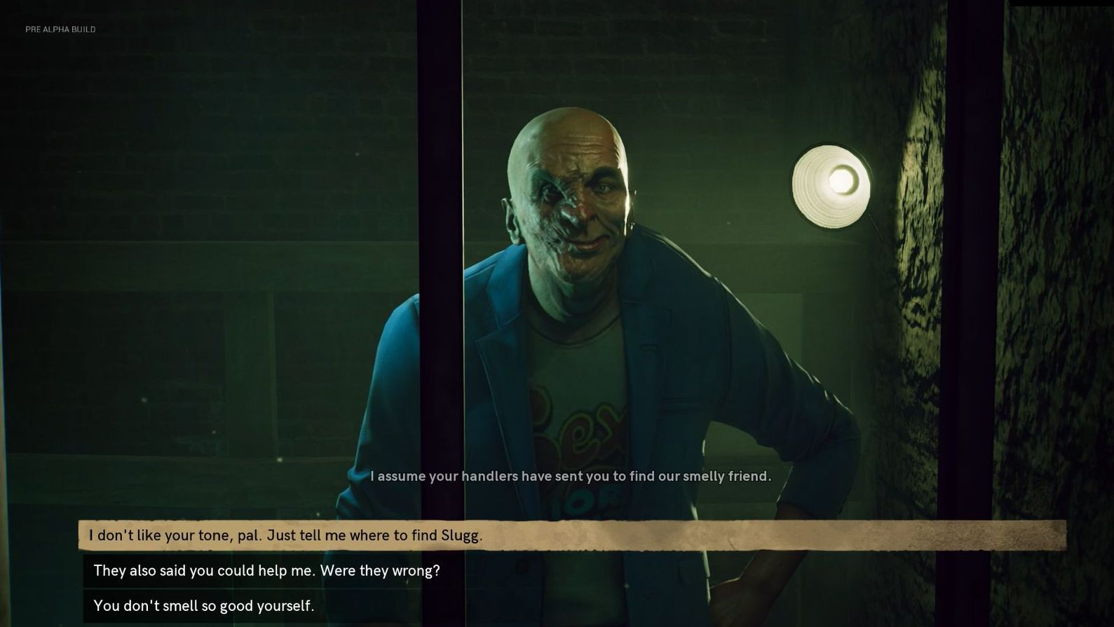 Bloodlines 2's dialogue system looks more subtle than the original