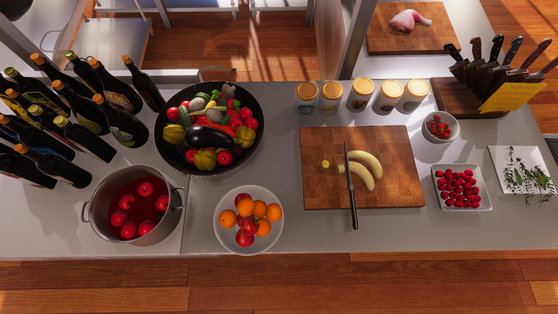 Video game food still looks like hideous plastic toys even in 2019. I think we know where Nvidia need to focus their efforts.
