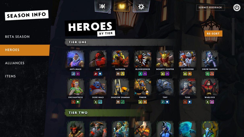 Dota Underlords heroes tier list – Game Breaking News