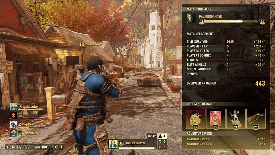 fallout 76 adding human npcs and battle royale mode rock. Black Bedroom Furniture Sets. Home Design Ideas