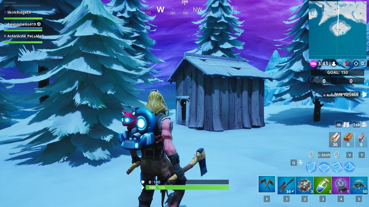 Fortbyte 69 Stone Pig Location, Fortbyte 76 Historial Diorama