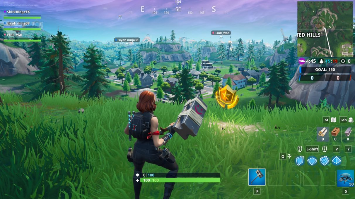 The Battle Star location of B2/B3/C2/C3.