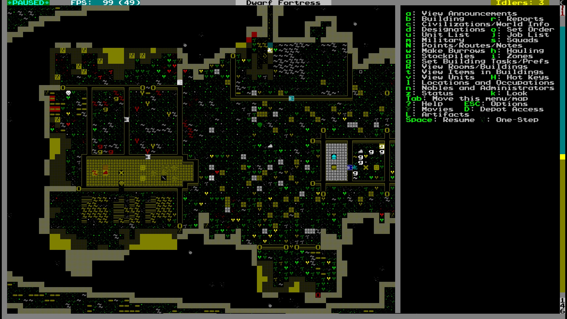 Dwarf Fortress Diary The Basement Of Curiosity Episode