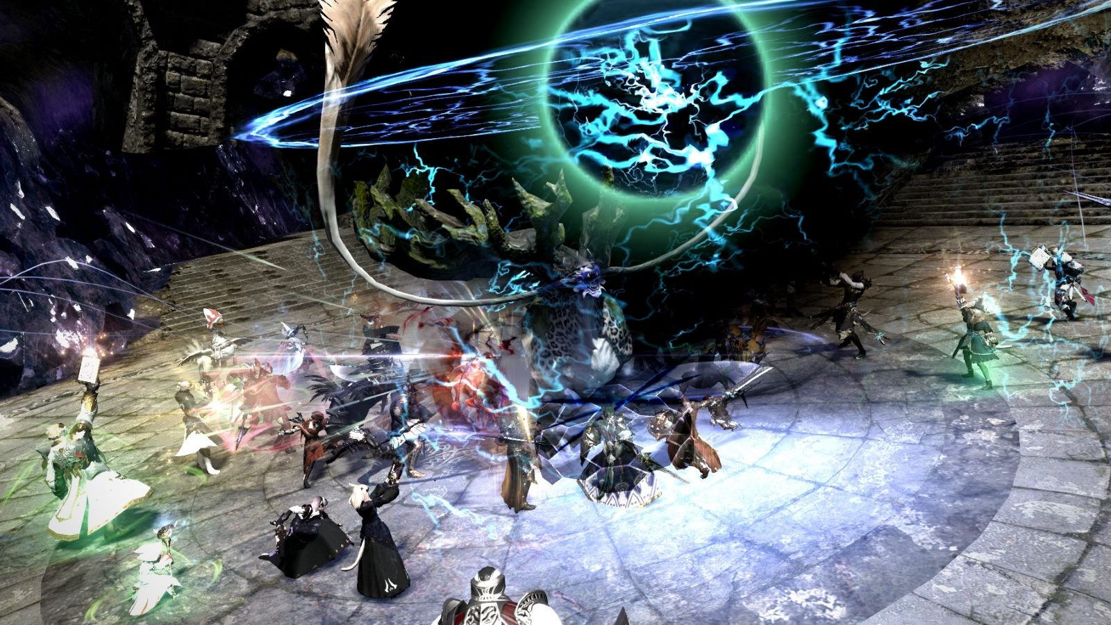 Pro tip: Turn off party member's attack and spell effects for raids. All you need to see is what to dodge.