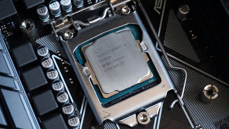 Intel Core i3-8100 - Best gaming CPU 2020