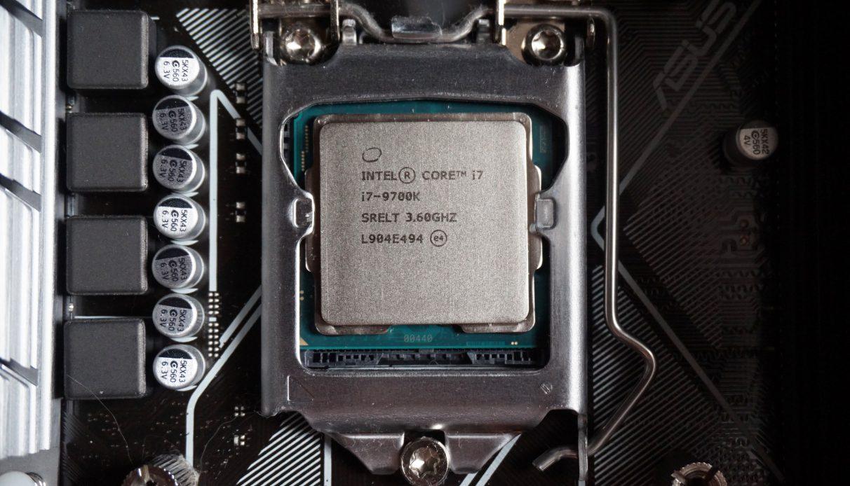 Intel Core i7-9700K - Best gaming CPU 2020