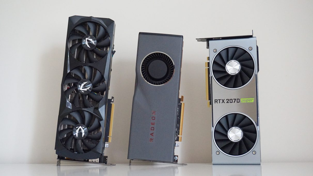 AMD Radeon RX 5700 XT or Nvidia GeForce RTX 2070 Super - Best graphics card 2020