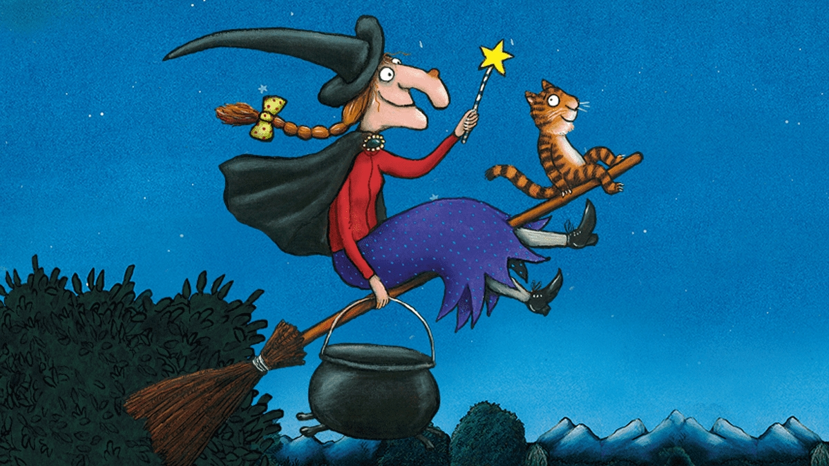 Is there room on the broom for an arsehole like me?