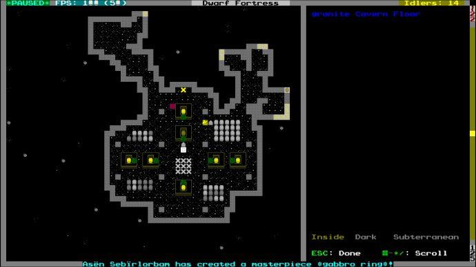 Dwarf Fortress - best free games 2020.