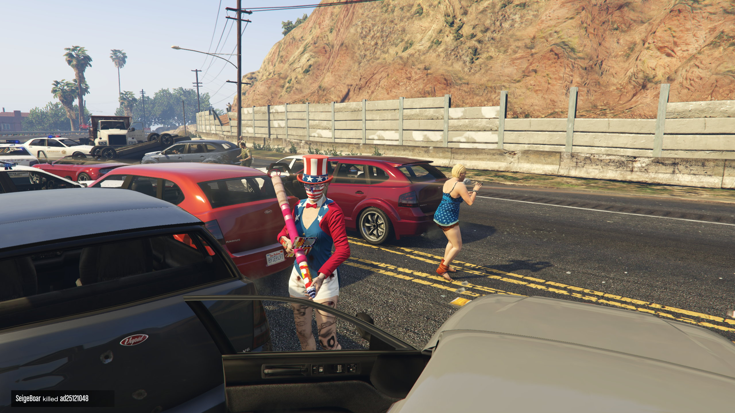 GTA Online's Independence Day is as explosive as ever   Rock Paper