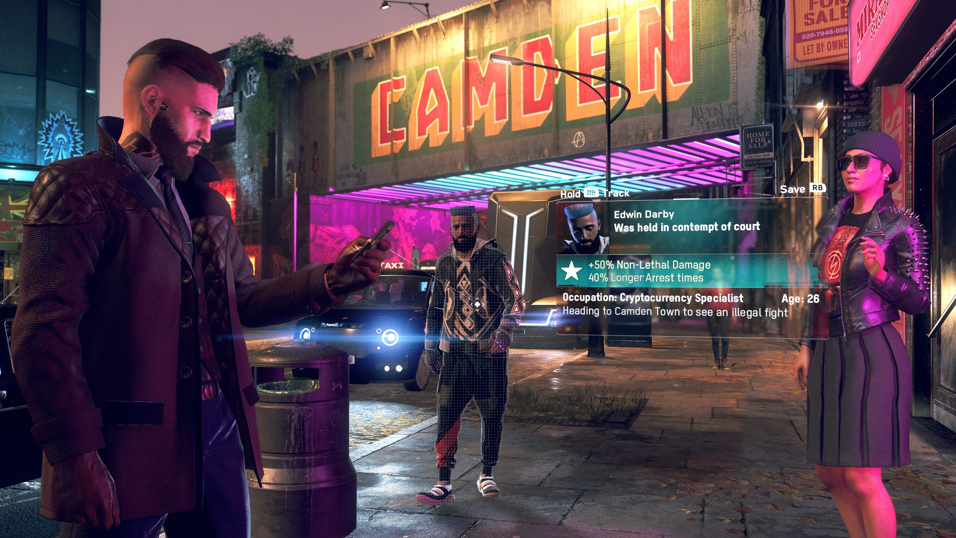 "Watch Dogs: Legion spec work is ""completely voluntary"