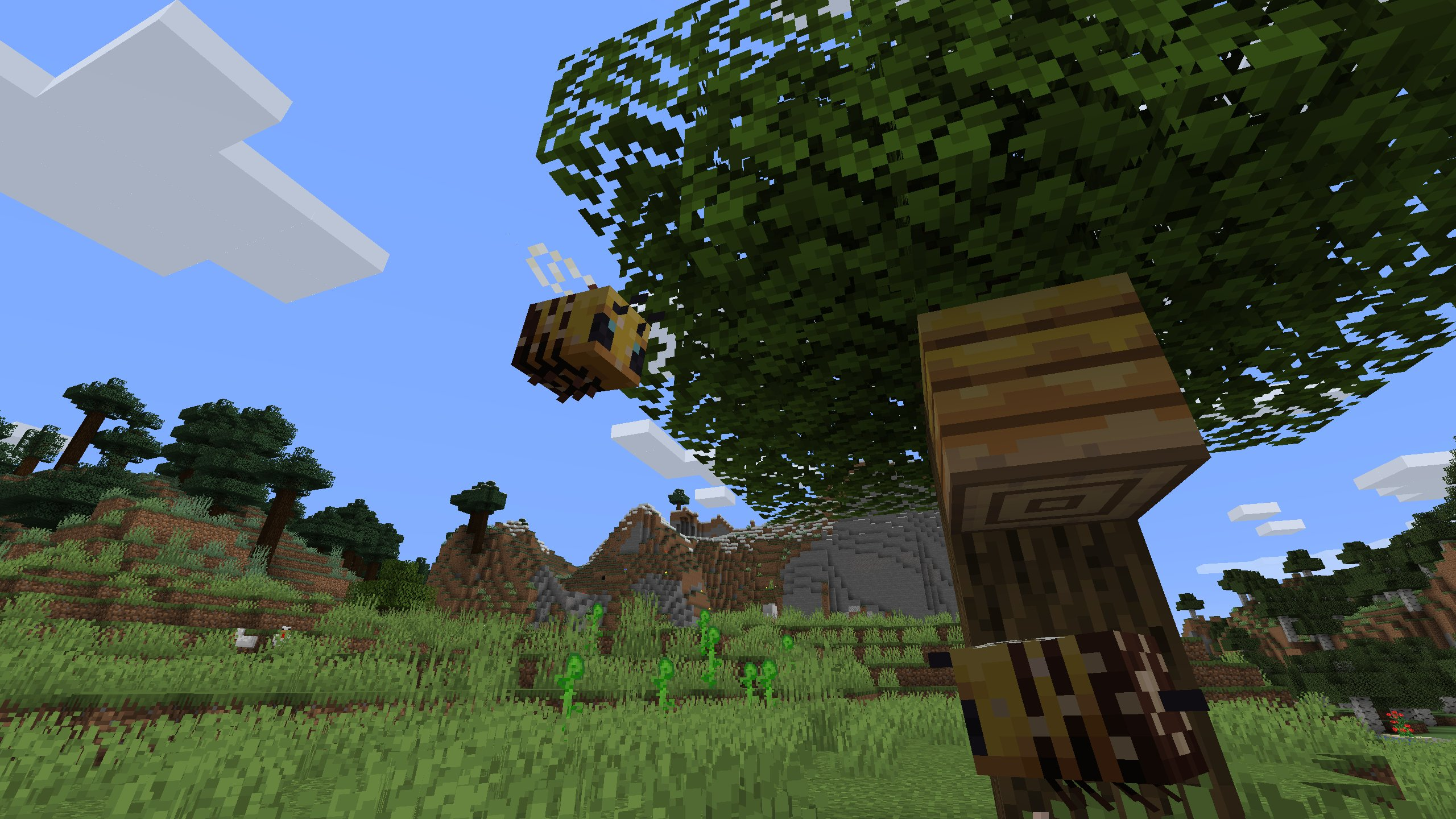 Minecraft Just Added Bees Rock Paper Shotgun