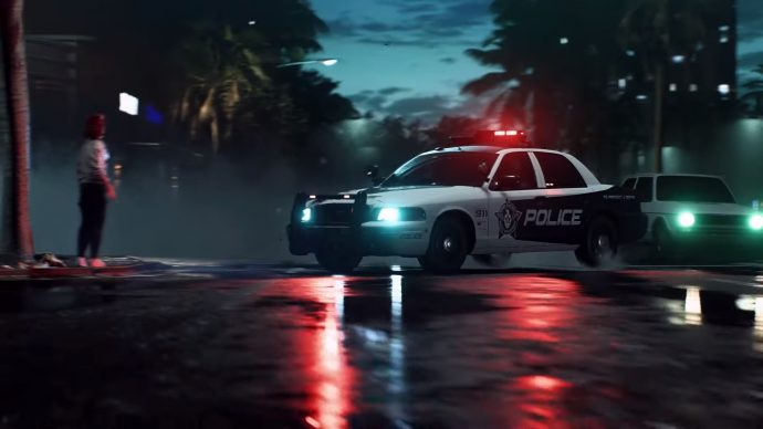 Need For Speed Heat cops