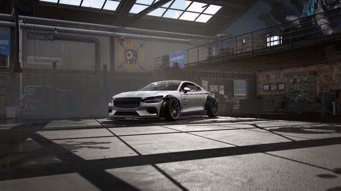 Need For Speed Heat garage