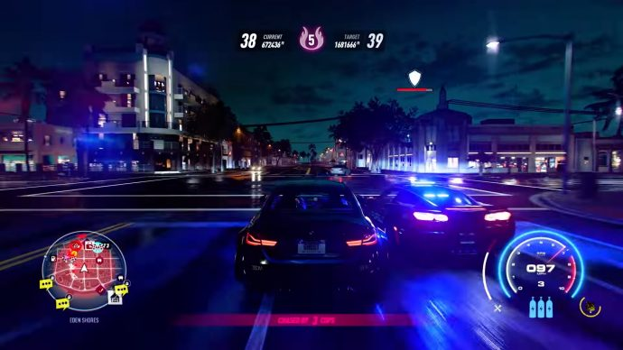 Need For Speed Heat night cops