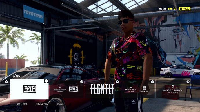 Need For Speed Heat clothes