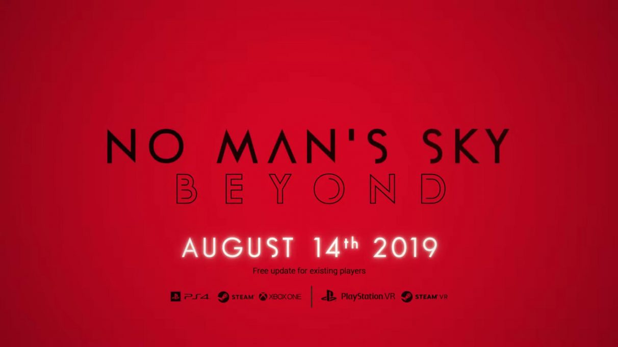 No Man's Sky Beyond release time and release date