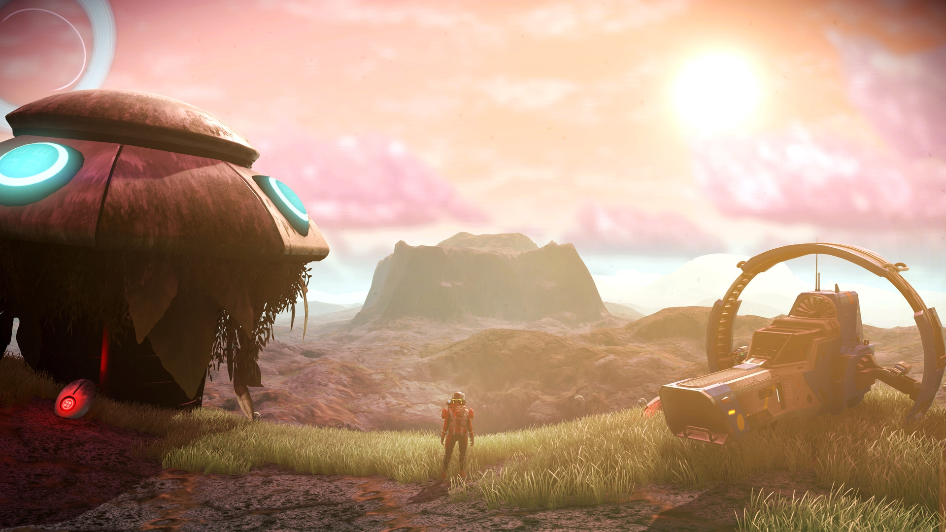 As lonely as all No Man's Sky scenes should be