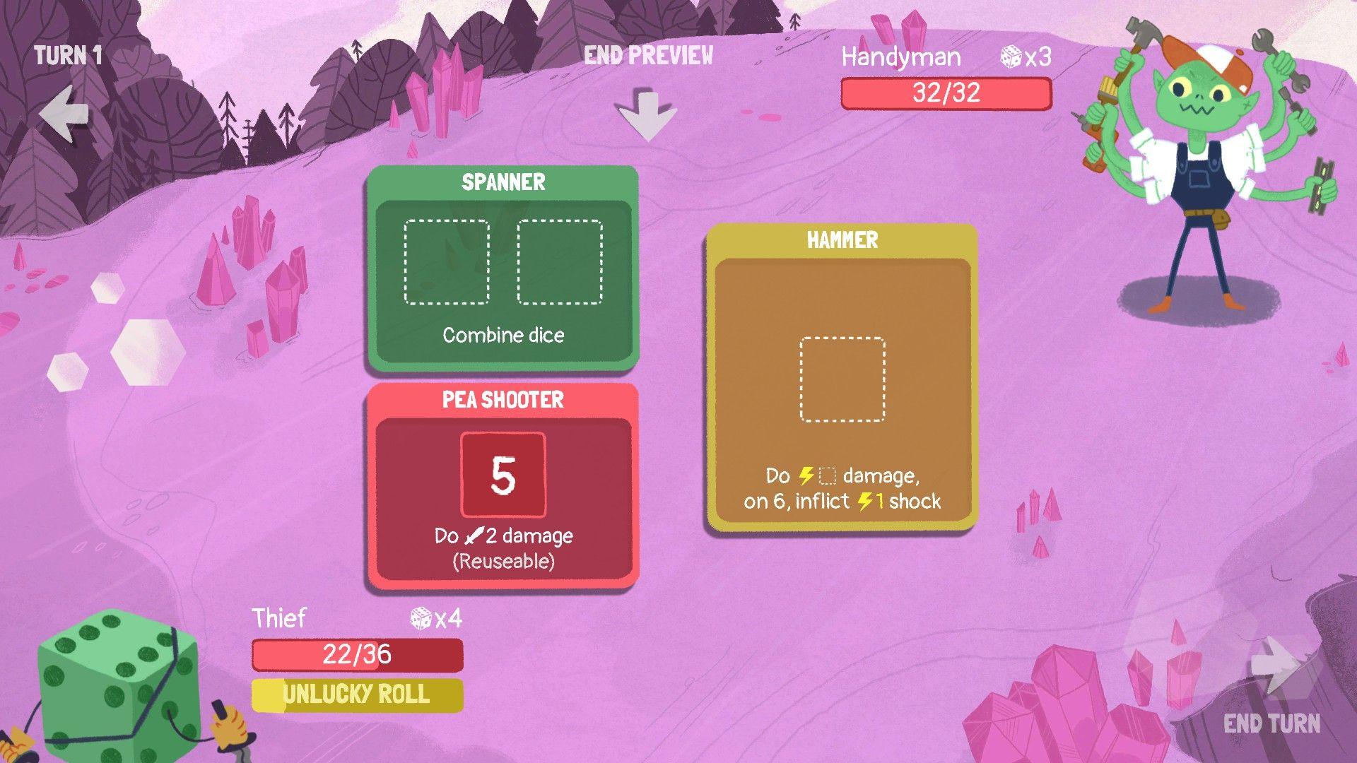 Dicey Dungeons review | Rock Paper Shotgun
